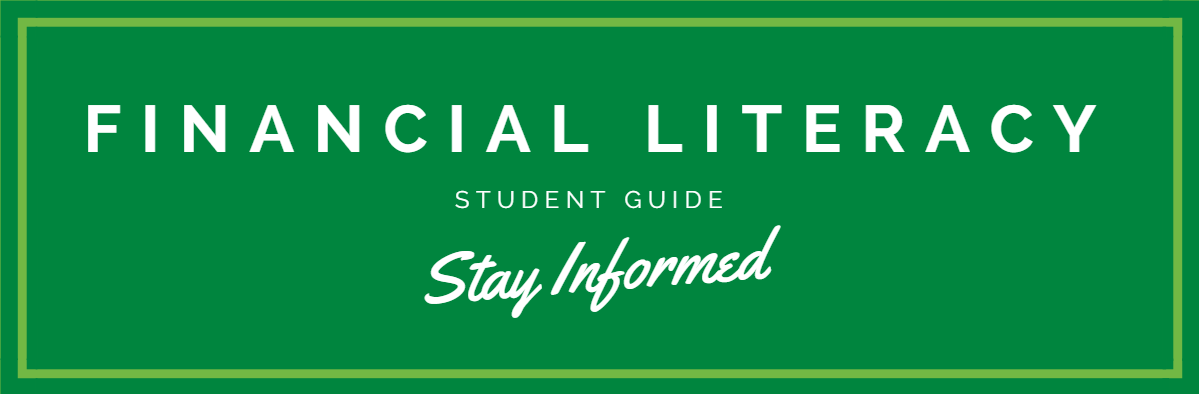 Financial Literacy - Student Guide - Stay Informed